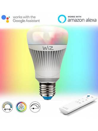 Bombilla inteligente LED WIFI RGB E27 11w - Wiz