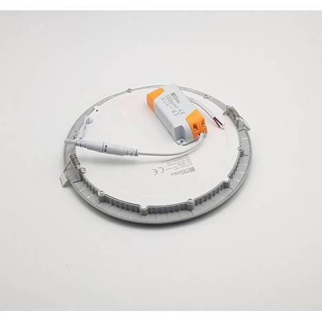 MASLIGHTING Downlight LED Eco 18w round grey