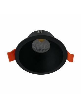 Foco empotrable NC2152R GU10 negro - YLD