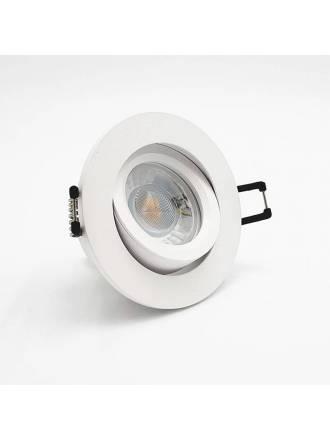 Foco empotrable Halka circular blanco - Bpm