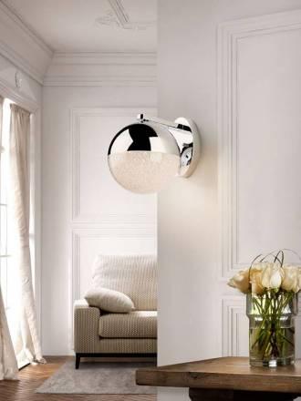 SCHULLER Sphere wall lamp LED