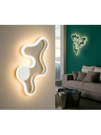 Aplique de pared Marea LED 14w blanco - Schuller