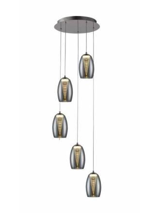Lámpara colgante Nebula 5L LED - Schuller