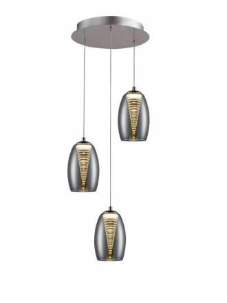 Lámpara colgante Nebula 3L LED - Schuller