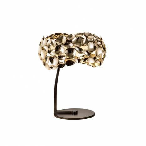 Lámpara de mesa Narisa 3l oro - Schuller