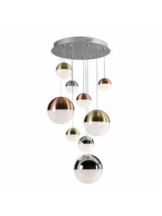 SCHULLER Sphere ceiling lamp 9l colors