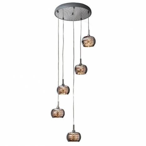 Lampara colgante Arian 5 luces LED de Schuller