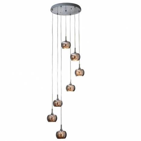 Lampara colgante Arian 7 luces LED de Schuller