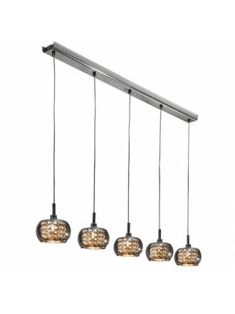 SCHULLER Arian linear pendant lamp 5 lights