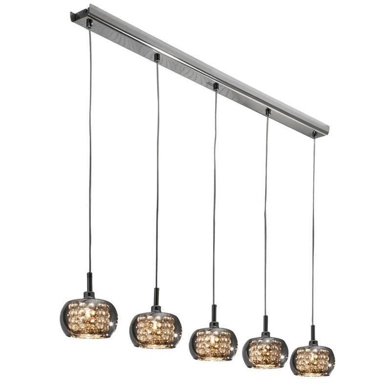 SCHULLER Arian linear pendant lamp 5 lights