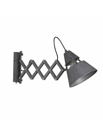 MANTRA Industrial wall lamp extensible oxide