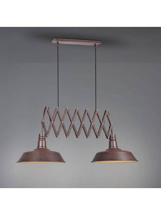 TRIO Detroit extensive lamp 2L rusty