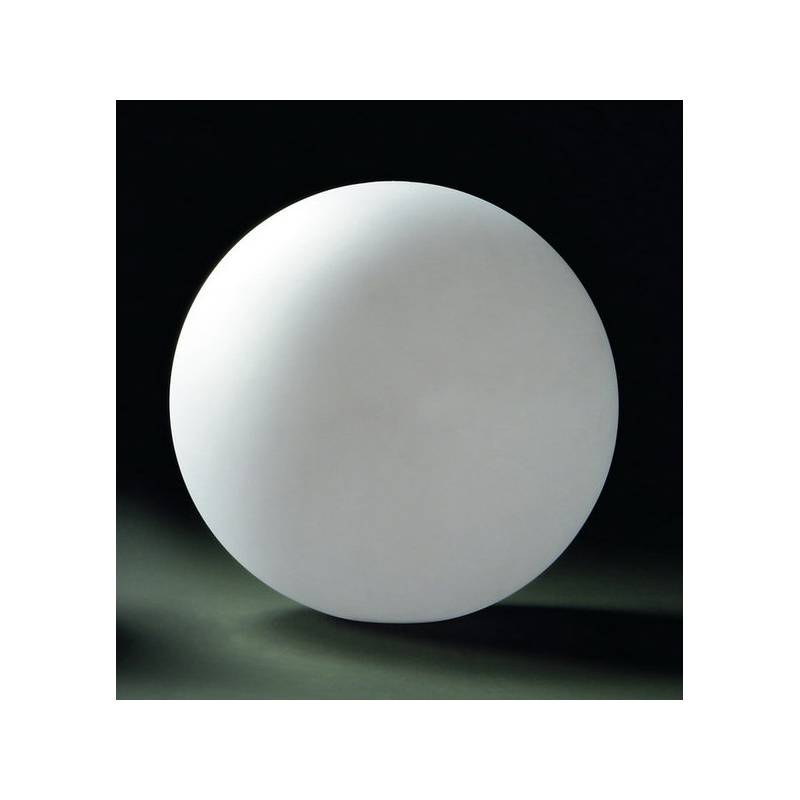 L mpara bola 1 luz ip44 policarbonato blanco mantra - Lamparas de polietileno ...