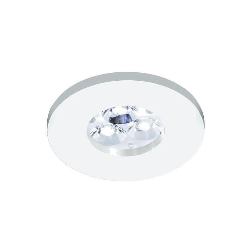 Foco empotrable 4205 IP65 circular blanco - Bpm