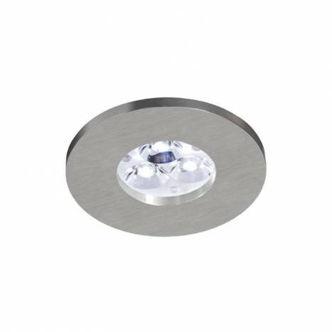 BPM 3005 IP65 round recessed light aluminium