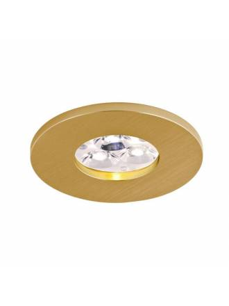 BPM 2005 IP65 round recessed light gold