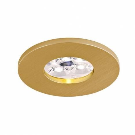 BPM 2005 IP65 round recessed light gold