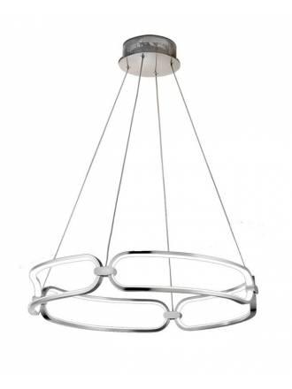 Lámpara colgante Colette LED 54w aluminio - Schuller