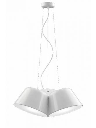 OLE by FM Sento Triple 3L pendant lamp white
