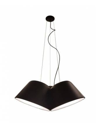 OLE by FM Sento Triple 3L pendant lamp black