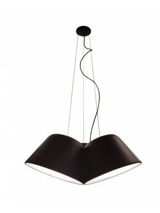 OLE by FM Sento Triple 3L pendant lamp black