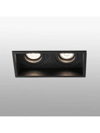 FARO Hyde 2L GU10 recessed light black