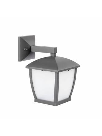 FARO Wilma E27 IP44 outdoor wall light grey