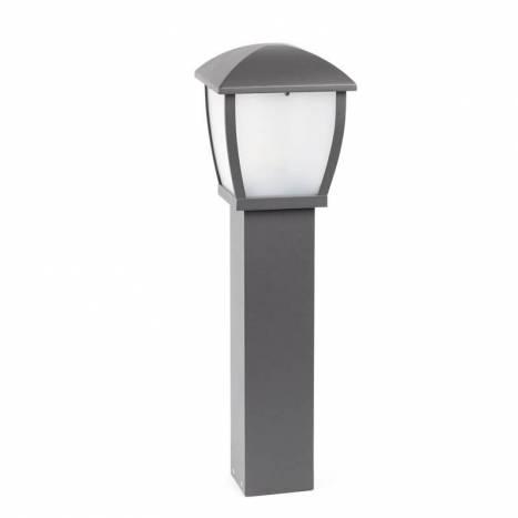 Baliza Wilma E27 IP44 gris oscuro - Faro