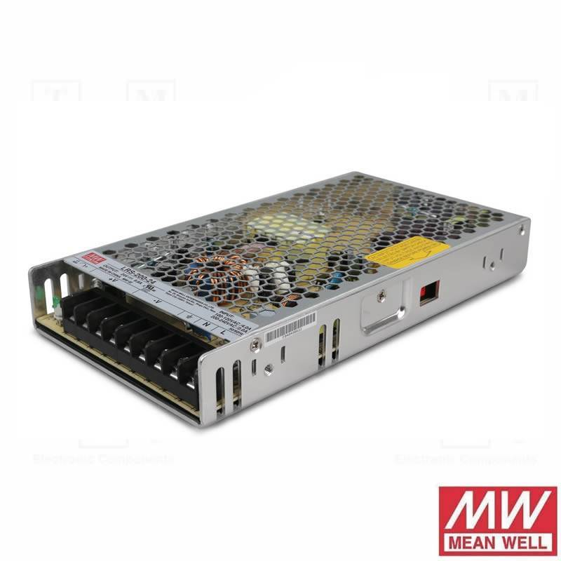 MEAN WELL LRS-200-24 Power supply 200w 24v