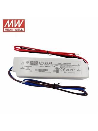 Fuente alimentación Mean Well LPV-35-24 IP67 35w 24v