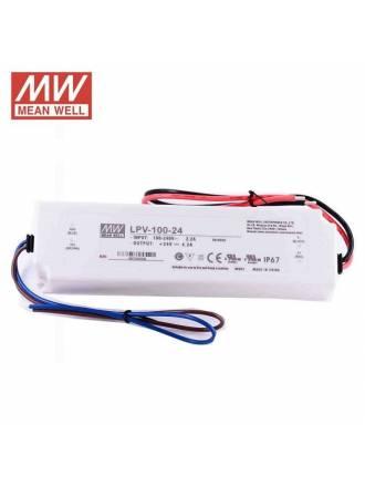Fuente alimentación Mean Well LPV-100-24 IP67 100w 24v