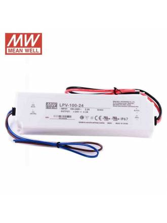 MEAN WELL LPV-100-24 IP67 Power supply 100w 24v