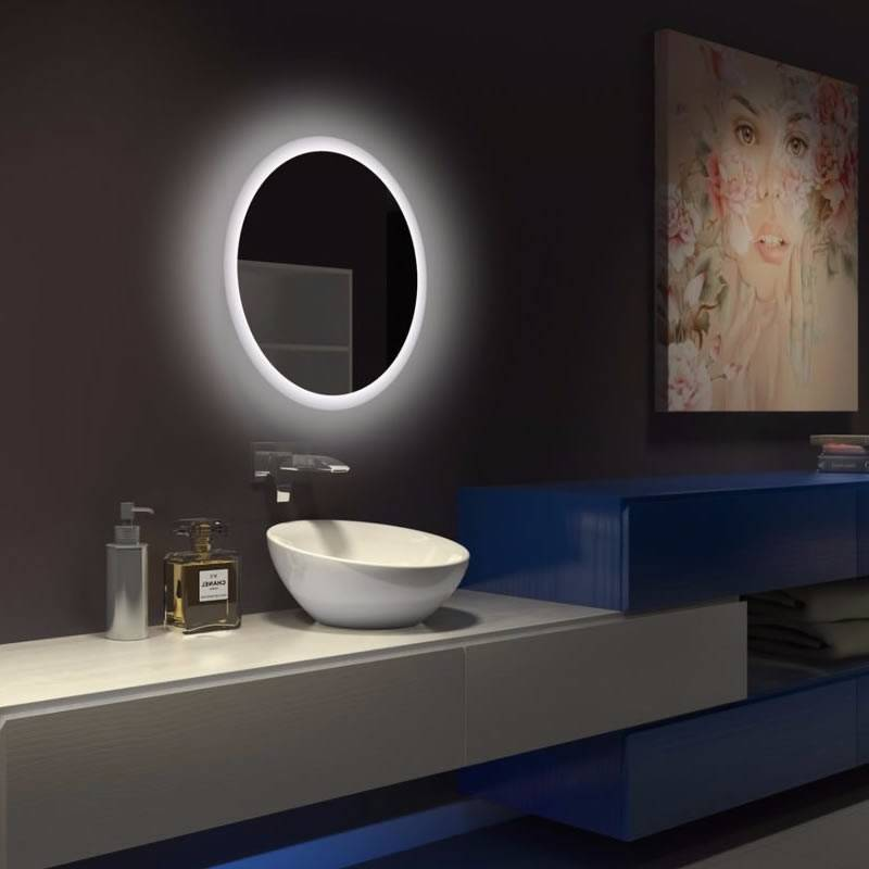 ACB Petra 64cm LED IP44 bathroom mirror