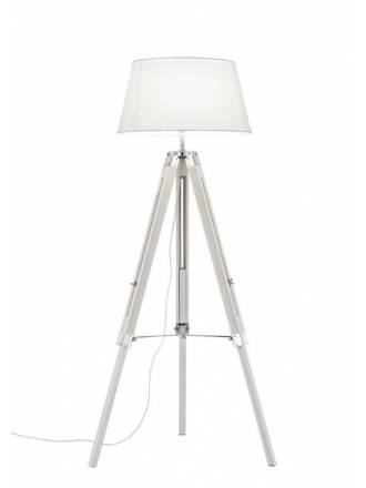 TRIO Tripod floor lamp white