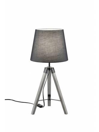 TRIO Tripod table lamp grey