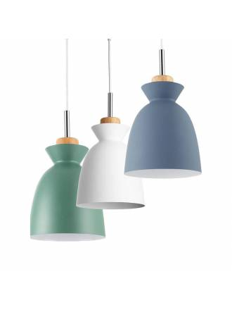 Lámpara colgante Voss 1L E27 - Jueric