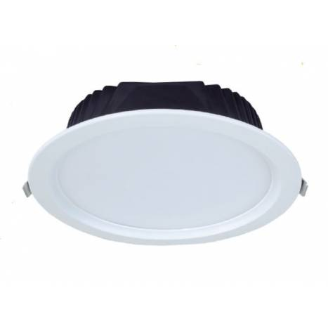 Downlight LED 30w circular blanco de Maslighting