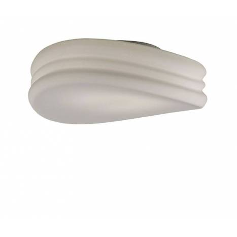Mantra Mediterráneo ceiling lamp 50cm opal glass