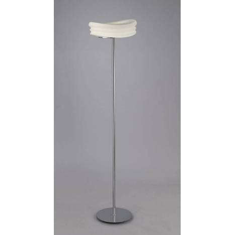 Mantra Mediterráneo floor lamp opal glass