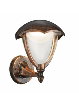 TRIO Gracht 2 LED wall lamp antique rust