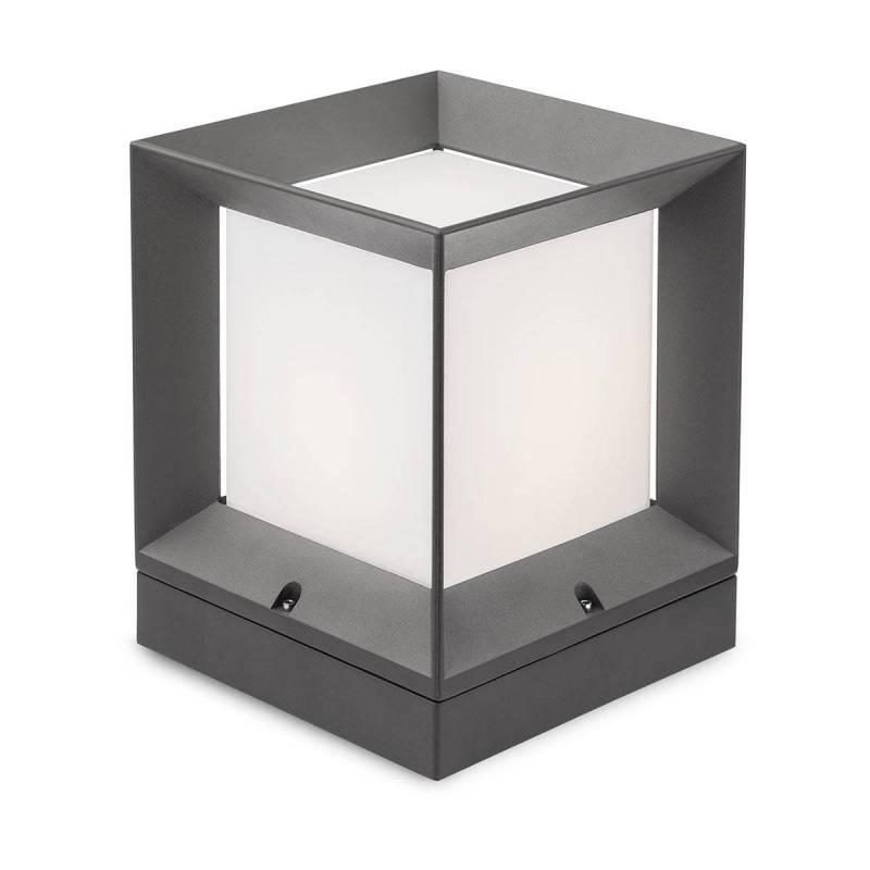 REDO Landmark E27 IP54 aluminium post lamp