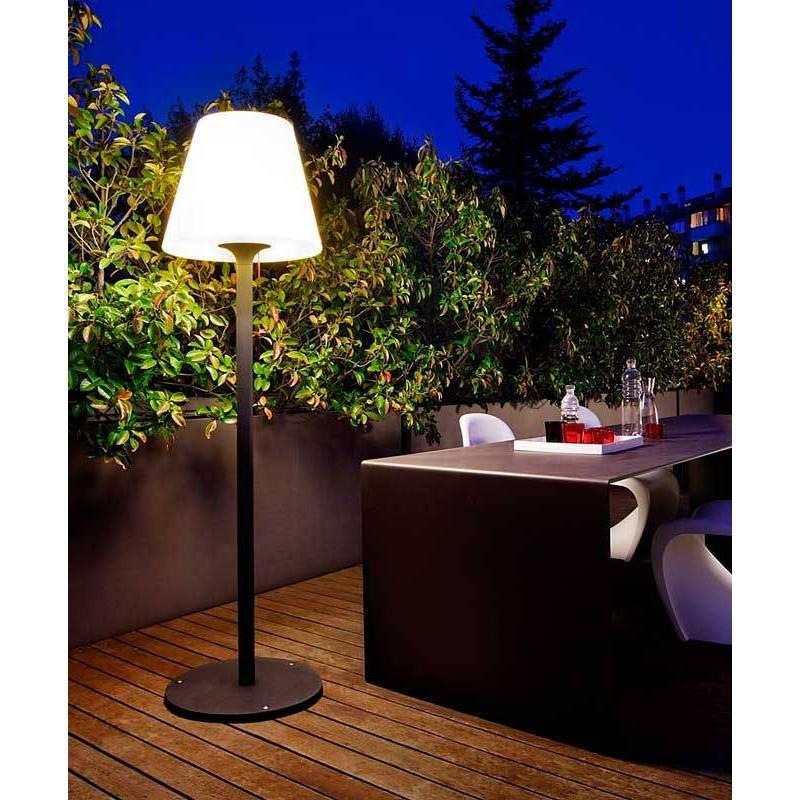 Redo Pino E27 Ip65 Outdoor Aluminium Amp Poliethylene Floor Lamp