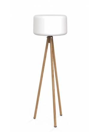 Lámpara de pie Chloe LED tripode - Newgarden