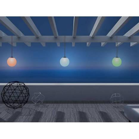 Lámpara colgante Norai LED RGB portátil - Newgarden