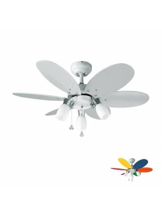 SULION Tones 3L AC ceiling fan white