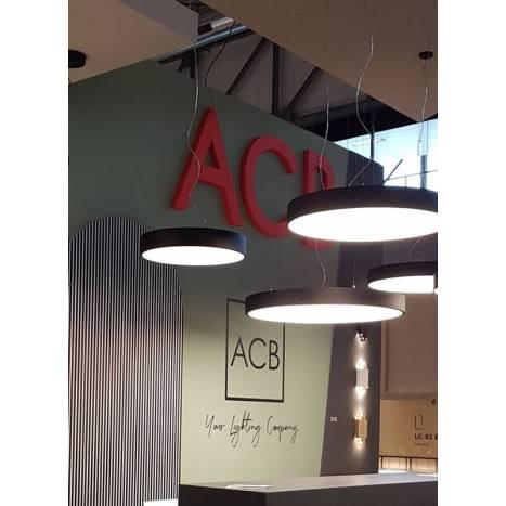 Lámpara colgante Isia LED negro - ACB