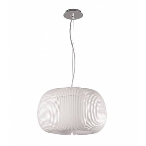 ACB Mirta pendant lamp 1L white