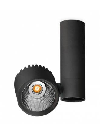 Foco de superficie Zen Tube LED negro - Arkoslight
