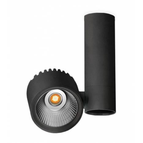Foco de superficie Zen Tube LED negro - Arkoslight