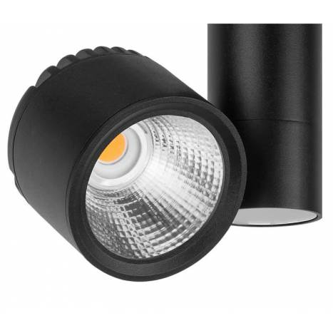 ARKOSLIGHT Zen Tube surface spotlight LED black
